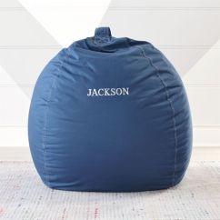 Teal Bean Bag Chair Camo Camp Large Dark Blue Reviews Crate And Barrel