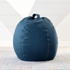 Blue Bean Bag Chairs Swing Chair Bunnings Small Dark Reviews Crate And Barrel