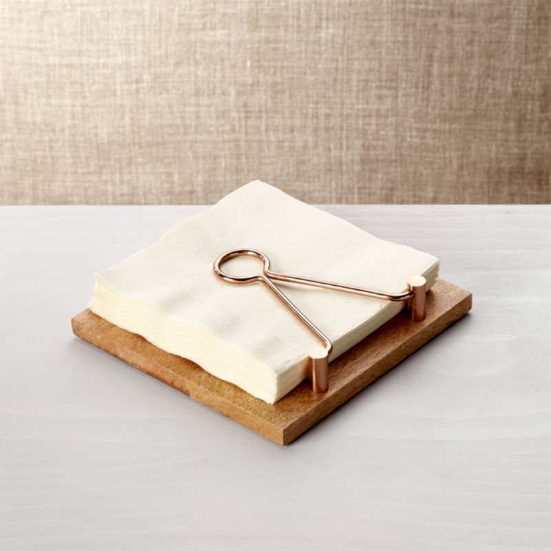 Beck Napkin Holder  Reviews  Crate and Barrel