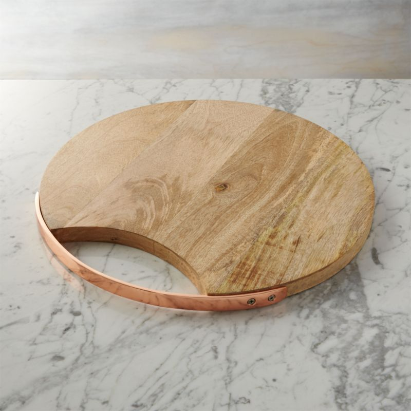 Round Wooden Cheese Board  Reviews  Crate and Barrel