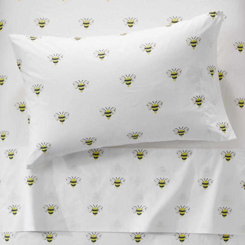 Organic Bee Twin Sheets Reviews Crate And Barrel