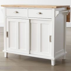 Kitchen Islan Amazon Sinks Belmont White Island Reviews Crate And Barrel