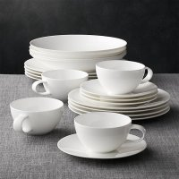 Bennett 20-Piece Dinnerware Set | Crate and Barrel
