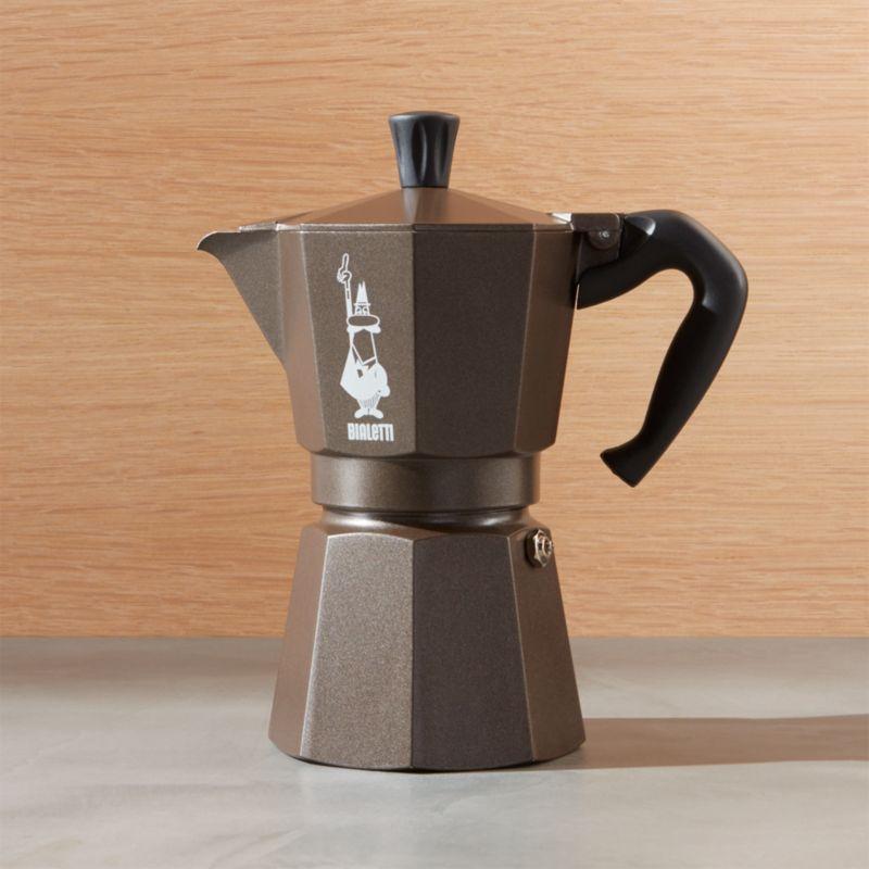 Bialetti Moka 6 Cup Espresso Maker Crate And Barrel