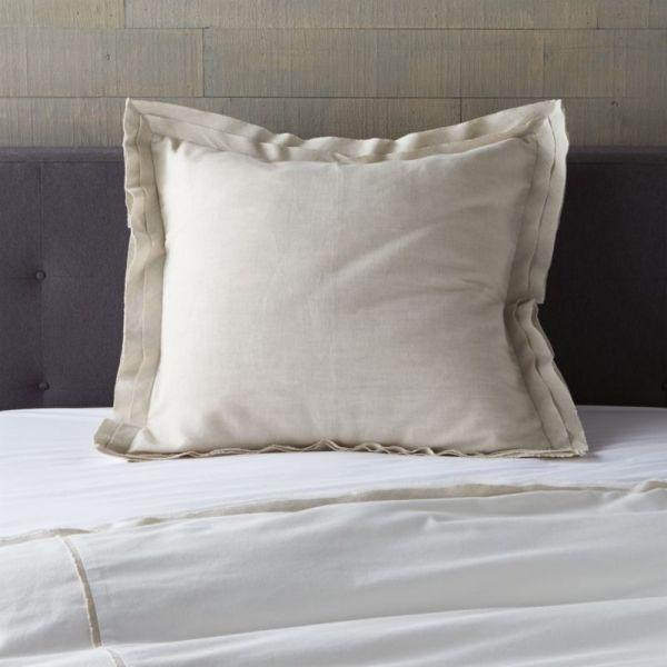 White Euro Pillow Shams