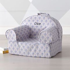 Slipcovered Living Room Chairs Potty Chair For Boys Crate And Barrel Small Bird Nod
