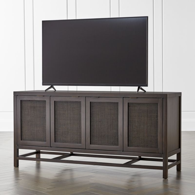 Blake Carbon 68 Media Console  Reviews  Crate and Barrel