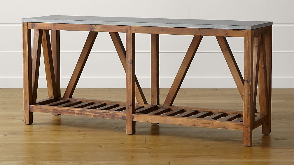 sofa console tables wood beds and futons uk bluestone table reviews crate barrel