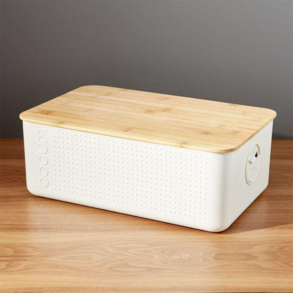Crate and Barrel Bread Box