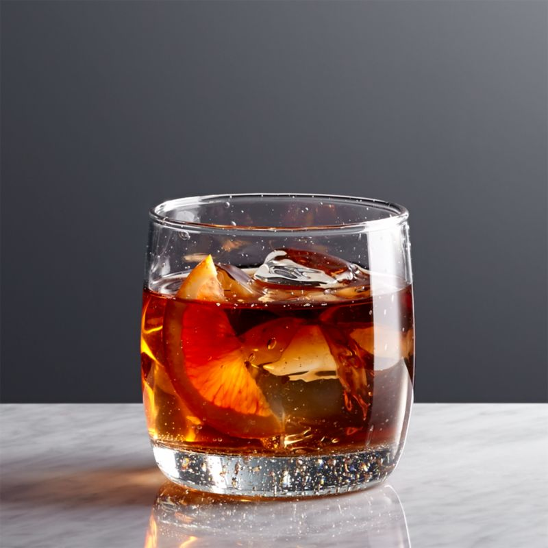 Bola Double OldFashioned Glass  Reviews  Crate and Barrel