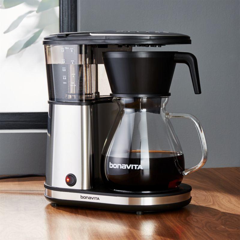 Bonavita 8Cup Glass Carafe Coffee Maker  Crate and Barrel