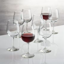 Boxed Wine Glasses Set Of 8 Crate And Barrel