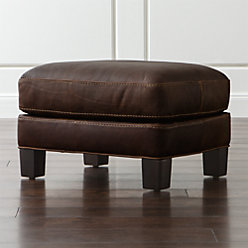 cb2 club leather sofa bed bad credit briarwood brown chair + reviews   crate and ...