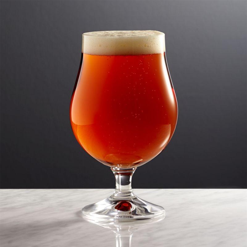 Bruges Beer Glass  Reviews  Crate and Barrel