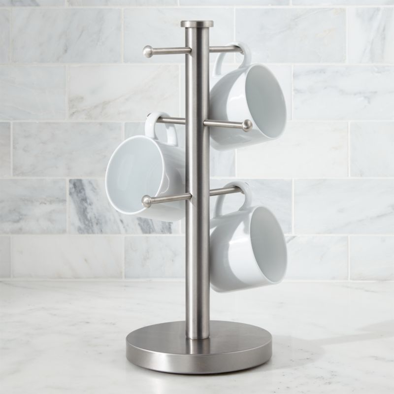 Coffee Mug Tree Stand Reviews Crate and Barrel