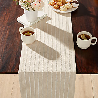 table runners linen cotton