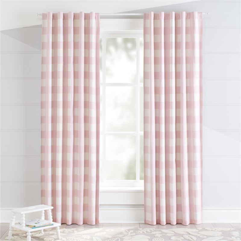 high end computer chair fishing with arms pink buffalo check curtain | crate and barrel