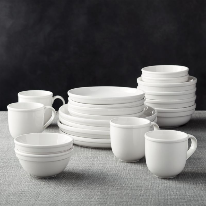 Cafeware II Dinnerware Crate And Barrel