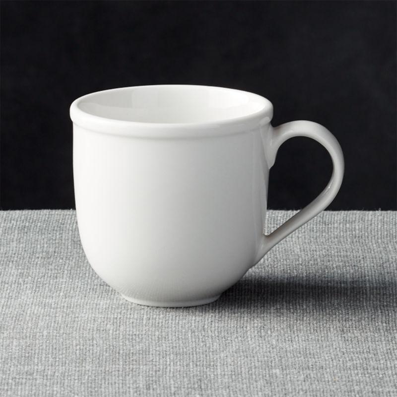 Cafeware II Mug  Reviews  Crate and Barrel