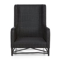 Calistoga Wingback Lounge Chair | Crate and Barrel