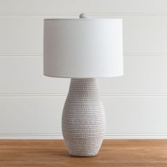 Grey Leather Desk Chair Chairs Sitting Area Crossword Cane White Table Lamp + Reviews | Crate And Barrel
