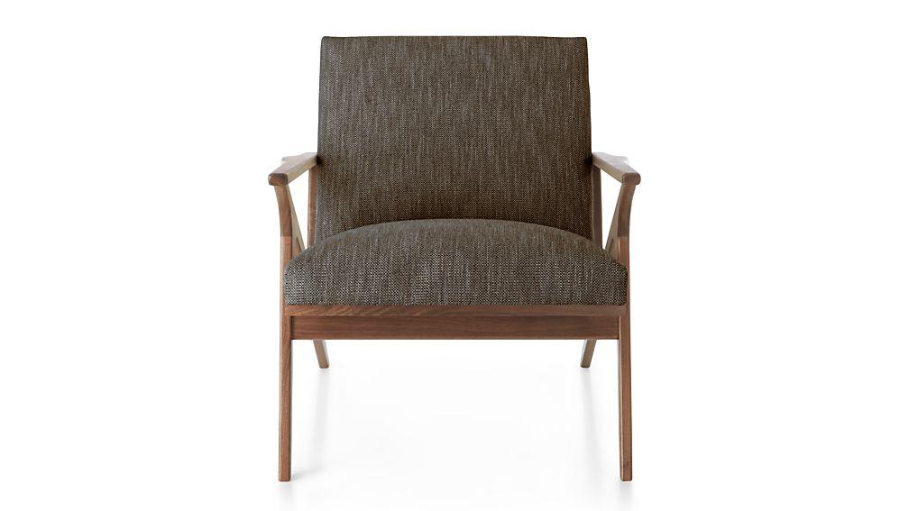 Cavett Chair Dandy Lemongrass  Crate and Barrel