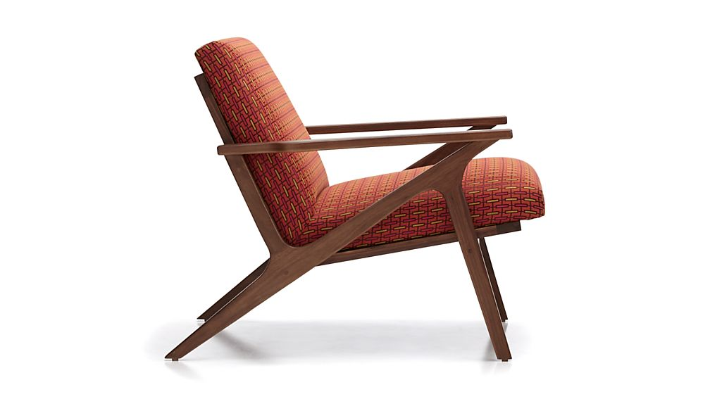 Cavett Chair Spindle Spice  Crate and Barrel