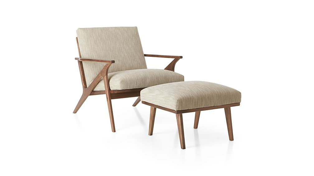 Cavett Chair Dandy Twine  Crate and Barrel