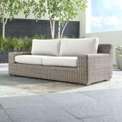 Velvet Grey Sofa Diy Build A Sectional Caymen Outdoor With White Sunbrella Cushions ...