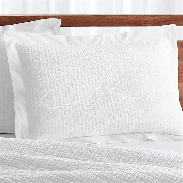 Standard Pillow Sham Size