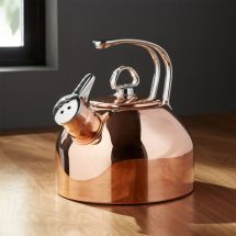 Chantal Classic Copper Tea Kettle Crate And Barrel