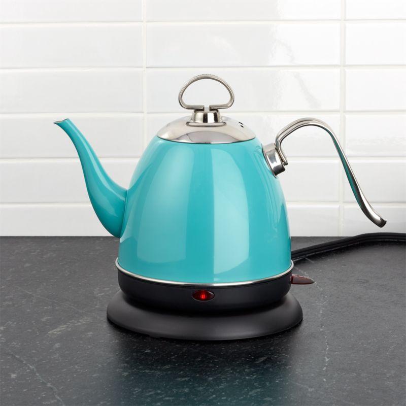 Chantal Mia Electric Aqua Tea Kettle  Reviews  Crate and