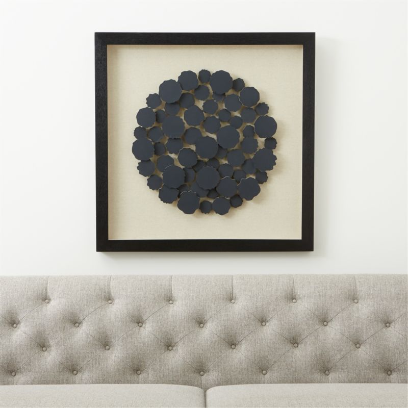Charcoal Disk Paper Wall Art Reviews Crate And Barrel