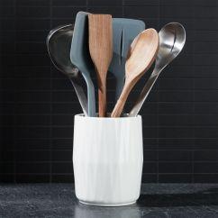 Kitchen Tool Crock Rug Sets Chef N 7 Piece Set And Reviews Crate Barrel Chefn7pctoolsetncrockshs18