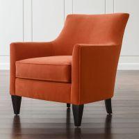 Clara Orange Living Room Chair