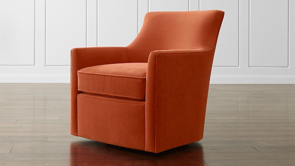 clara chair crate and barrel beautyhealth massage swivel |