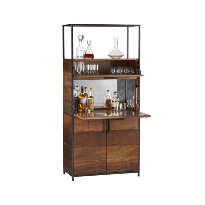 Clive Bar Cabinet  Reviews  Crate and Barrel