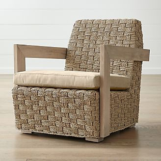 chair king houston distribution center ivory lace covers clearance outlet furniture sofas and dining tables crate barrel coronado seagrass with cushion