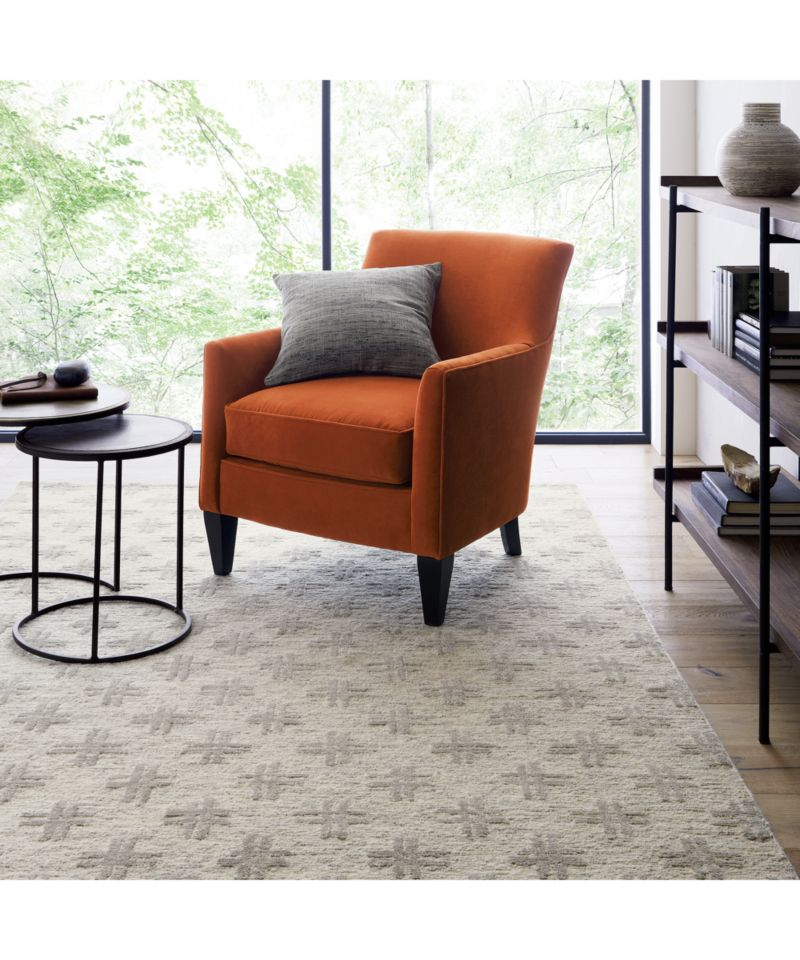 clara chair crate and barrel office for home in chairs + reviews |