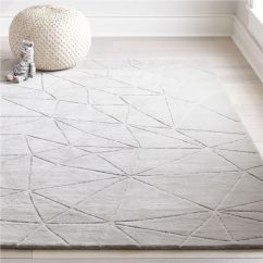 White Leather Chairs For Sale Replacing Mesh On Patio Crystal Mosaic Kids Rug (grey) | Crate And Barrel