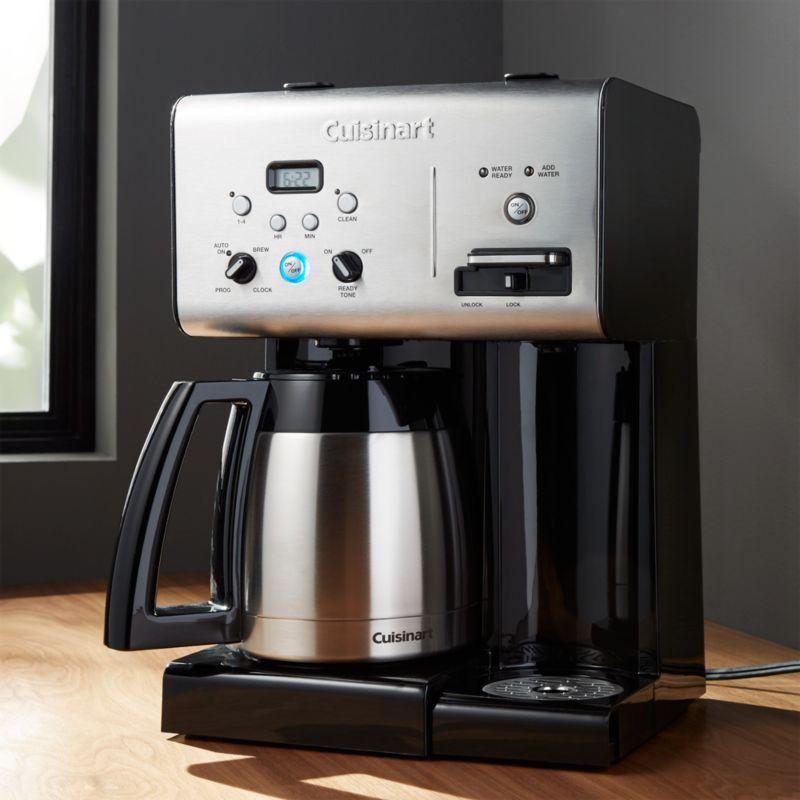 Cuisinart Plus 10 Cup Programmable Coffee Maker Plus Hot