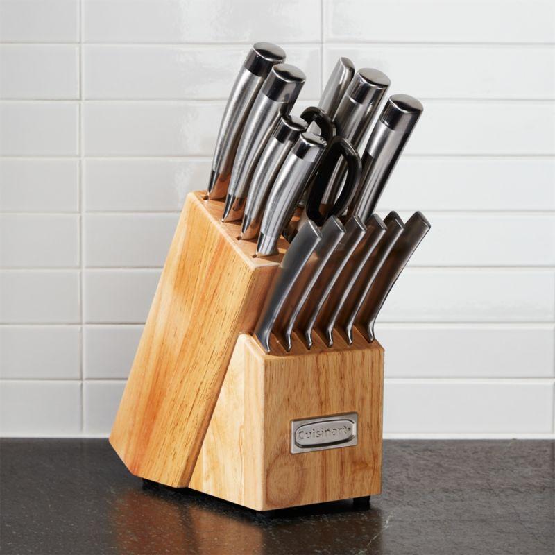 Cuisinart 15Piece Pro Knife Block Set  Reviews  Crate