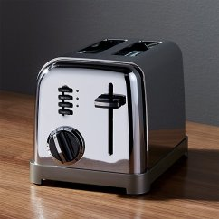 Small Kitchen Appliances Islands Bar Stools Cuisinart ® Classic 2-slice Toaster | Crate And Barrel