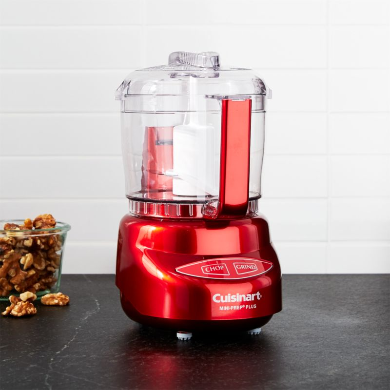 red kitchen islands bed bath and beyond mat cuisinart metallic mini prep plus food processor ...