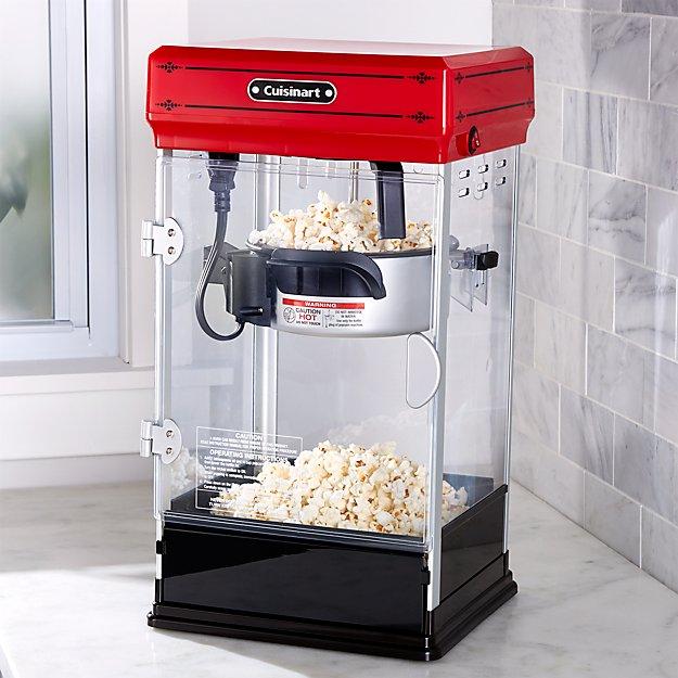 Cuisinart Professional Popcorn Maker  Crate and Barrel