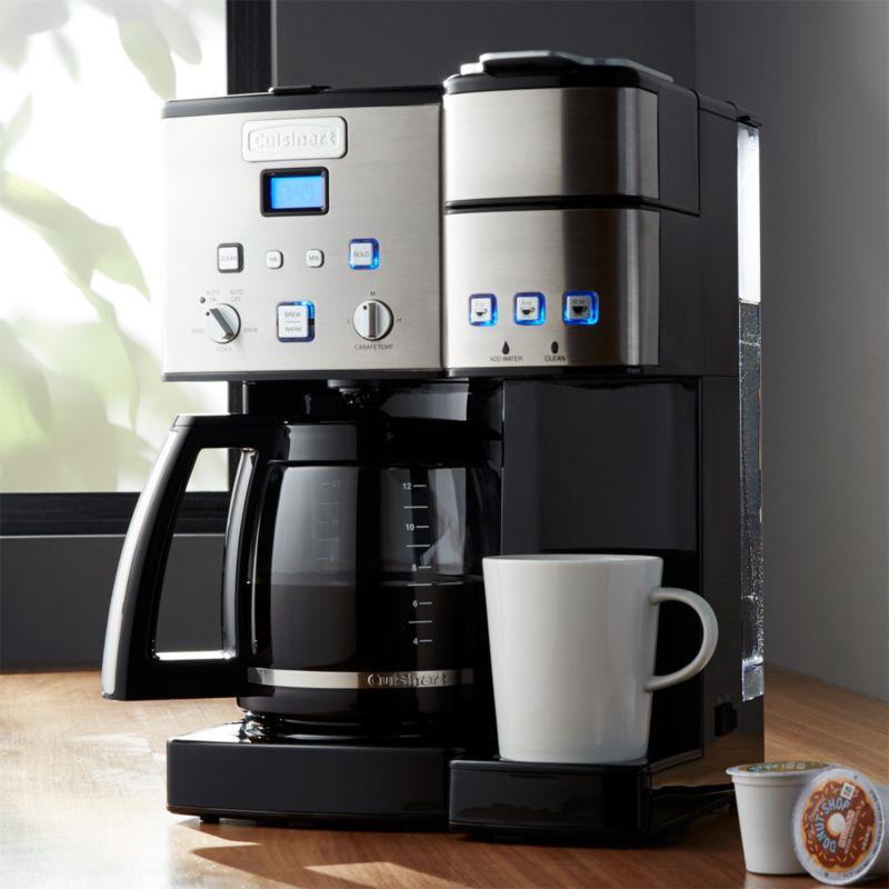 Cuisinart Combination KcupCarafe Coffee Maker  Reviews