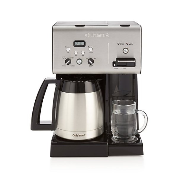 Cuisinart Plus 10Cup Programmable Coffee Maker plus Hot