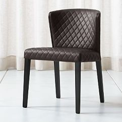 Gray Dining Chair Cover Hire Edinburgh Prices Shop Chairs Kitchen Crate And Barrel Curran Quilted Chocolate