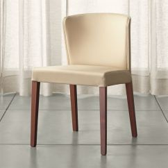 S Dining Chair Replacement Cushions For Patio Chairs Curran Crema Reviews Crate And Barrel