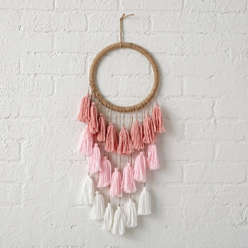Dreamcatcher Wallpaper With Quote Tassel Dreamcatcher For Kids Reviews Crate And Barrel